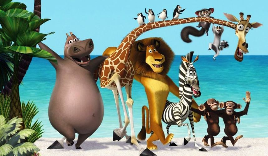 Madagascar i pesma I like to move it