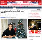Ucenje engleskog u Americi, polaznik Verbalista Sava Stankovic u Los Andjelesu, Novosti, 22DEC13