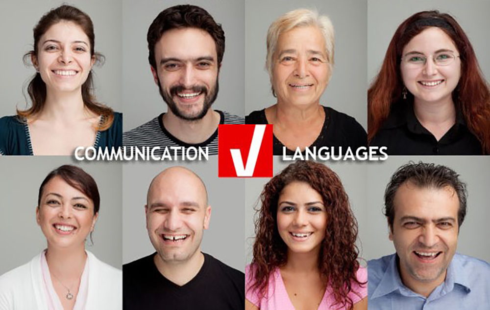 Teaching adults face to face communication