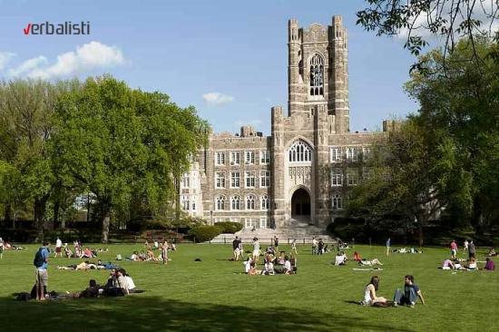 Letnja skola jezika odrzava se u prostorijama Univerziteta Fordam (Fordham University)