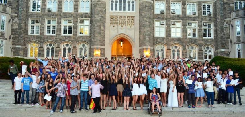 Polaznici letnje skole engleskog jezika za mlade u Njujorku, Verbalisti