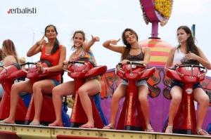 Verbalisti u zabavnom parku, Coney Island, New York