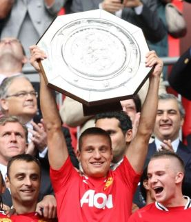 Nemanja Vidic is the first Manchester United Captain from Southern Europe