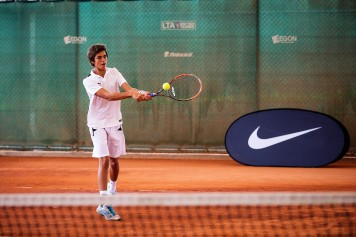 Polaznik jezicke mreze Verbalisti u teniskom kampu Nike
