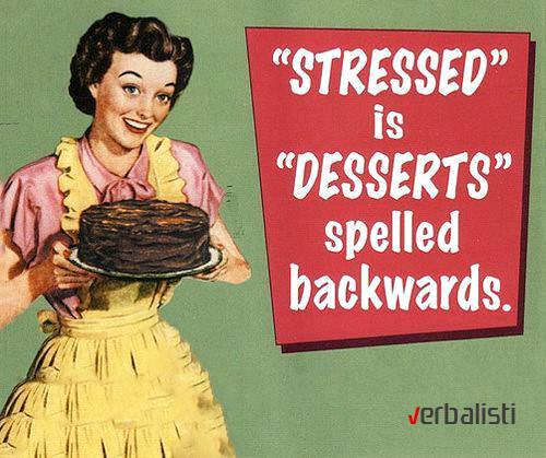 Stressed i desserts