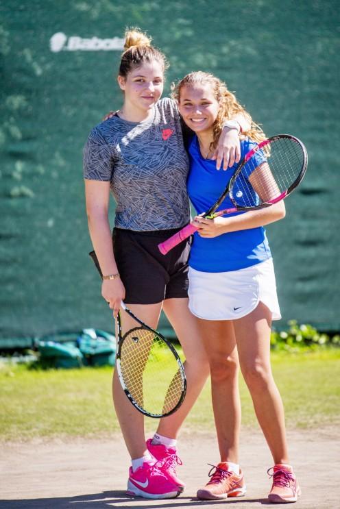 Polaznica jezicke mreze Mila Ivanov u NTC teniskom centru