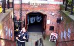 Our student in front of The Beatles Story, language travel My LIVERPOOL