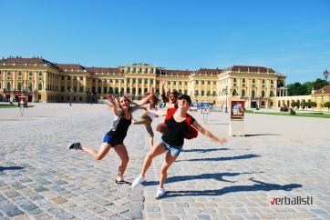 Letnja skola nemackog u Becu i polaznici jezicke mreze Verbalisti