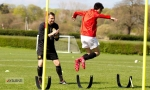 Manchester United training camp, Bradfield, spring 2014, 4