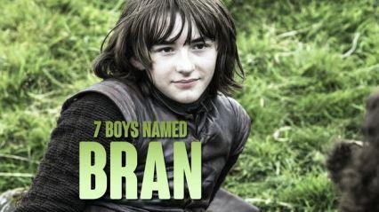 7 boys named Bran