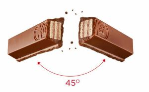 KitKat message for iPhone 6 Plus