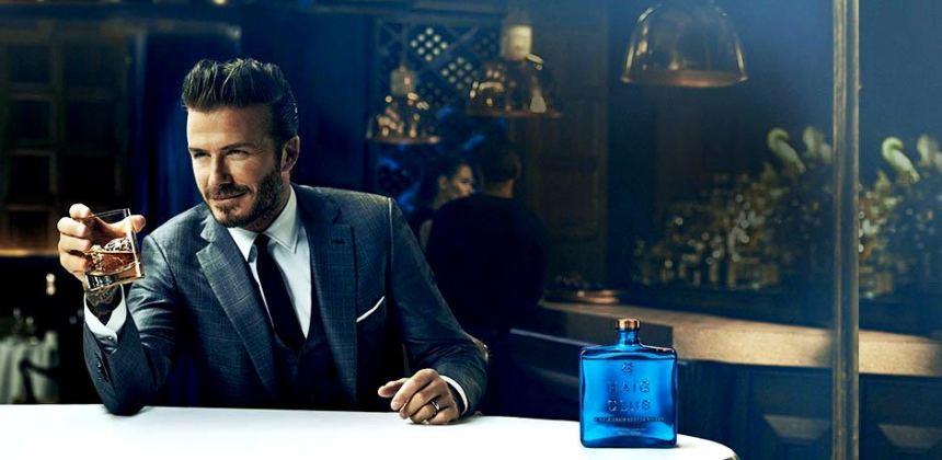 Dejvid Bekam u reklami za viski Haig Club