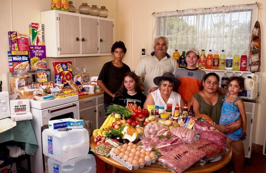 Kako se hrani jedna porodica u Australiji