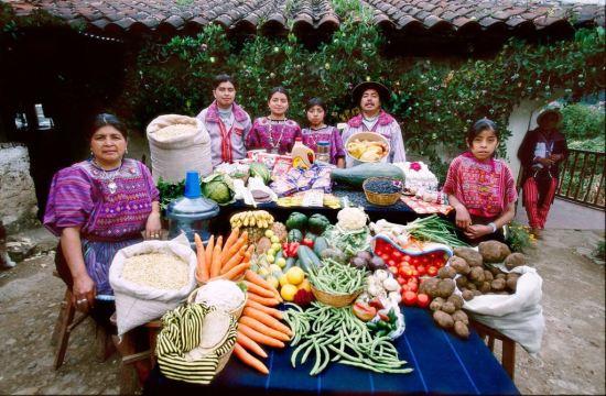 Kako se hrani porodica u Gvatemali