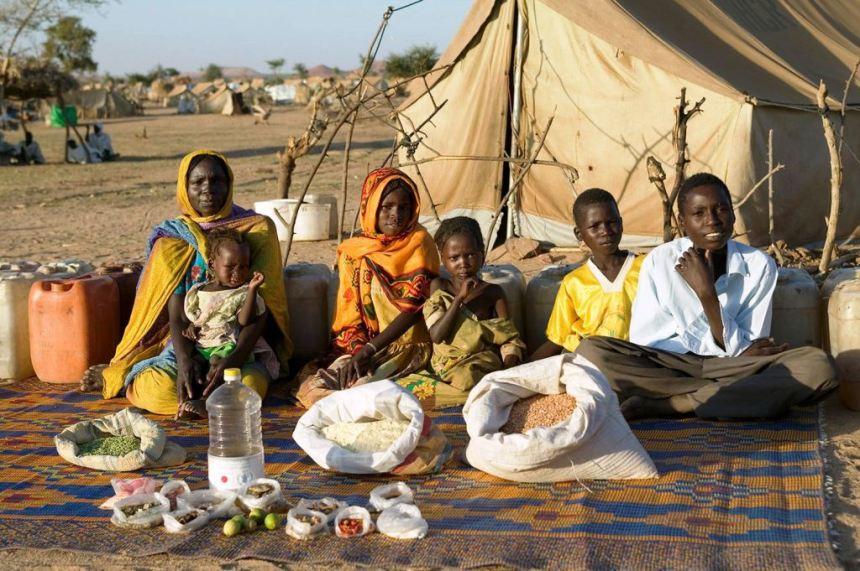 Malo toga čini trpezu u Čadu
