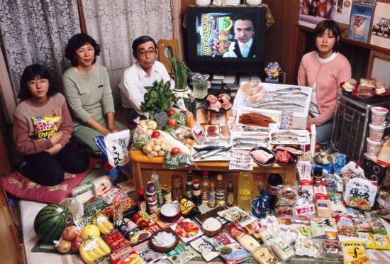 Mi smo ono sto jedemo, porodica u Japanu