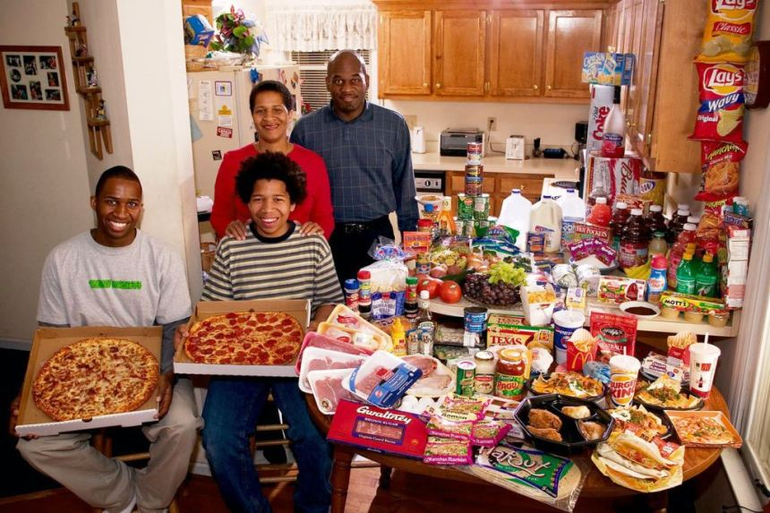 Pica, čips i koka-kola dominiraju trpezom afroameričke porodice