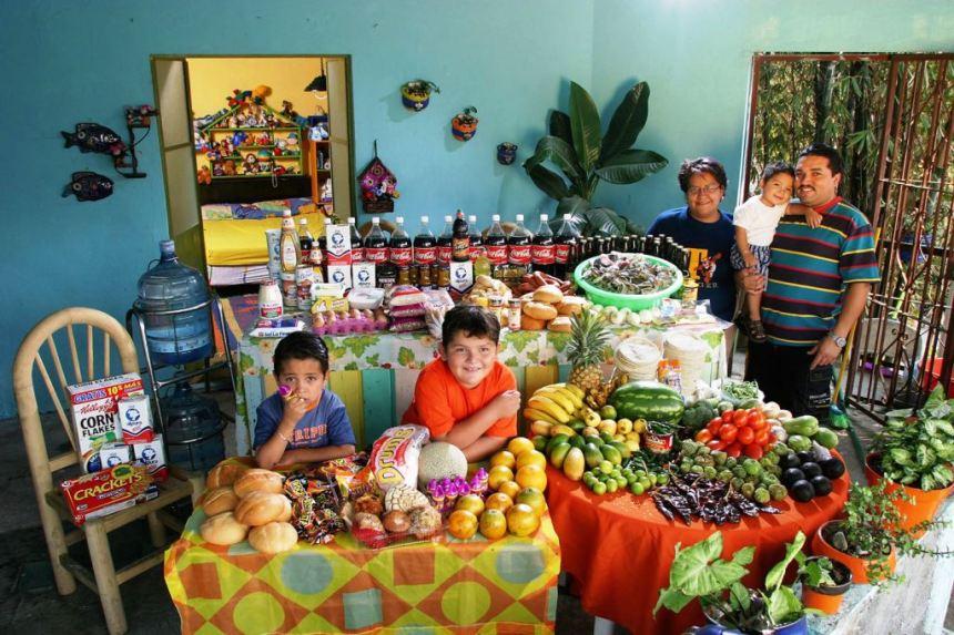 Sta jede porodica u Meksiku