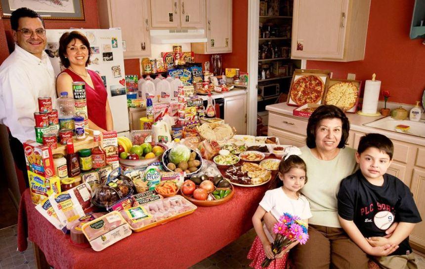 Trpeza meksikanske porodice u SAD
