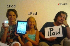 "SECOND PLACE ""iPAID"""