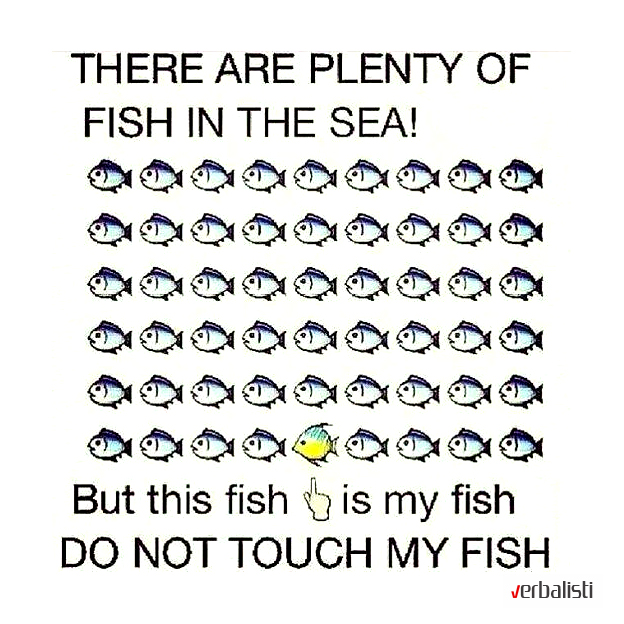 Theres plenty of fish in the sea hookup