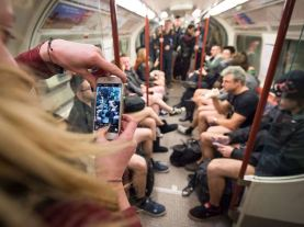No Pants Subway Ride in London