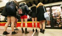No Pants Subway Ride in Warsaw, Poland