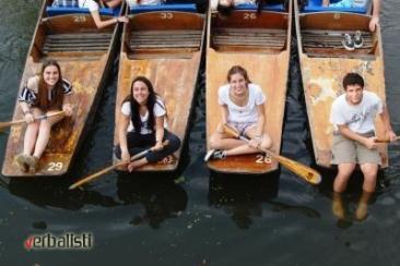 Pantovanje u Oksfordu, polaznici jezicke mreze