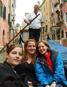 Voznja gondolom u Veneciji, Verbalisti
