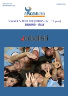 Brosura za letnji kamp i skolu italijanskog u Linjanu, Italiji, Verbalisti