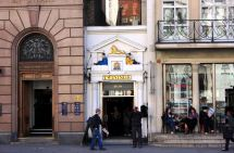 Twinings shop on The Strand street, London