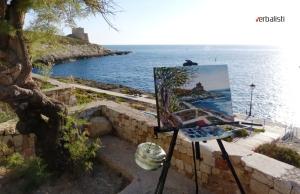 Engleski plus casovi slikanja na ostrvu Gozo, Malta