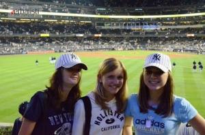 Na bezbol utakmici New York Yankeesa