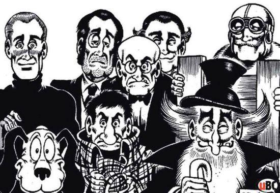 Strip Alan Ford i legendarne izjave njegovih junaka, Verbalisti