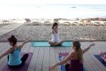 Verbalisti na času joge na Ibici