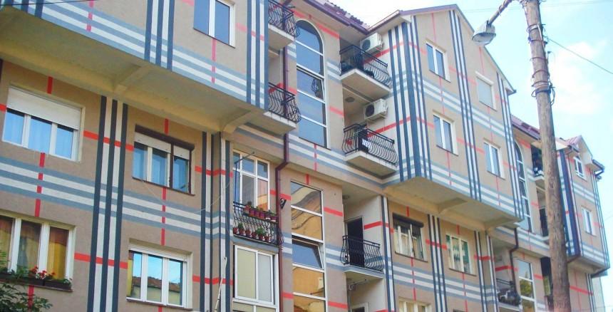 Kopije Barberi šara, zgrada u Vranju