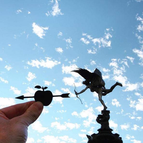 Statua Erosa, znamenitosti Londona