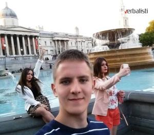 Drasko Ristivojevic na jezickom putovanju My LONDON