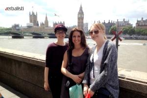 Polaznica jezičke mreže Lora u Londonu