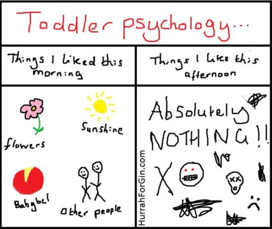 Psihologija deteta koje jedva da je prohodalo