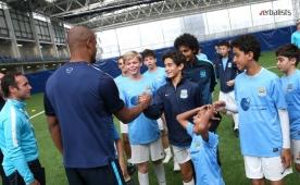 Druženje sa kapitenom Manchester Cityija - Vincent Kompany