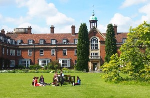 Polaznici jezicke mreze Verbalisti u St. Hugh's koledzu u Oksfordu
