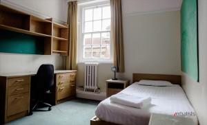 Spavaca soba u koledzu St Hugh's Oxford