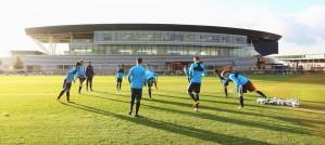 Trening Manchester City fudbalske akademije