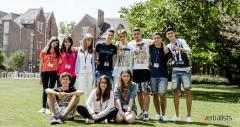 Verbalisti u letnjoj skoli engleskog jezika, koledz St Hughs u Oksfordu