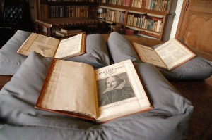 The First Folio is the name given to the collection of William Shakespeare's 36 plays published in 1623