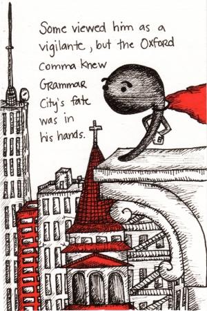 Engleske jezicke nedoumice, Oxford Comma, Verbalisti