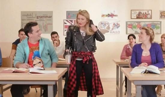 Kako da naucim engleski - Andrija i Andjelka na casu, Verbalisti