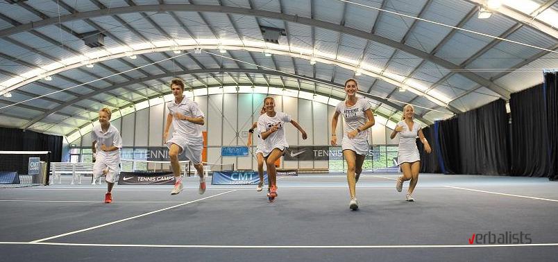 Zatvoreni tereni teniskog centra u Londonu - NTC
