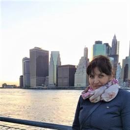 Katarina Perović, krstarenje, New York